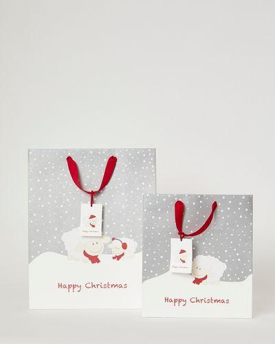 Francis Brennan the Collection Sheep Christmas Gift Bag