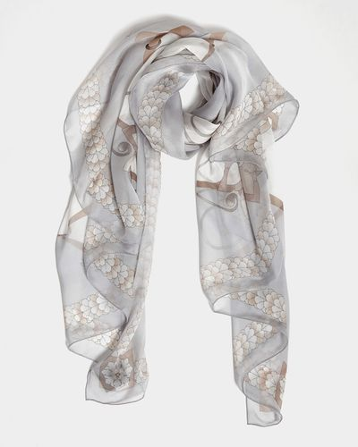 Francis Brennan the Collection Florence Silk Scarf