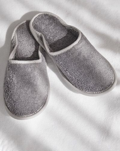Francis Brennan the Collection Luxury Terry Hotel Slippers thumbnail