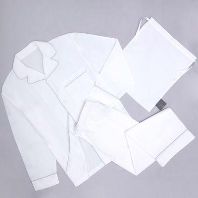 Francis Brennan the Collection White Pyjama Set