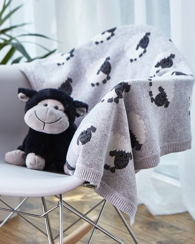 Francis Brennan the Collection Children's Sheep Blanket