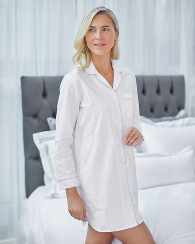 Francis Brennan the Collection Cotton Nightshirt
