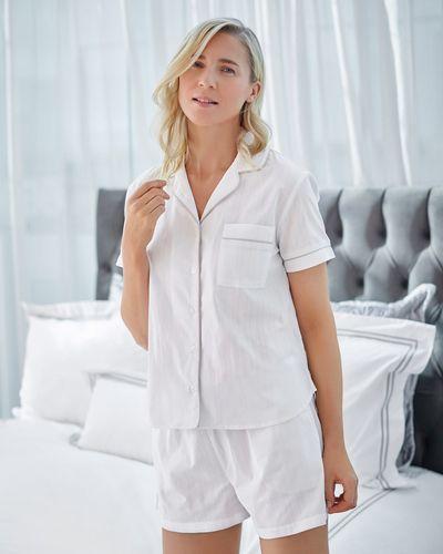 Francis Brennan the Collection Cotton Pyjama Shorts Set