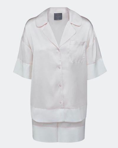 Francis Brennan the Collection Aylex Solid Blush Shorts Set
