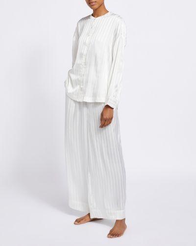 Francis Brennan the Collection Bawn Stripe Pyjamas