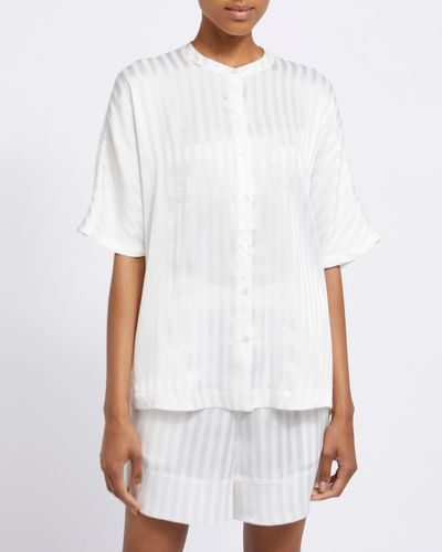 Francis Brennan the Collection Bawn Stripe Short Set