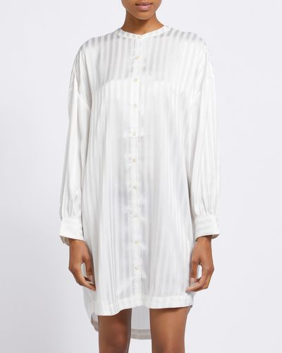 Francis Brennan the Collection Bawn Stripe Nightdress