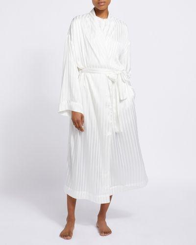 Francis Brennan the Collection Bawn Stripe Robe