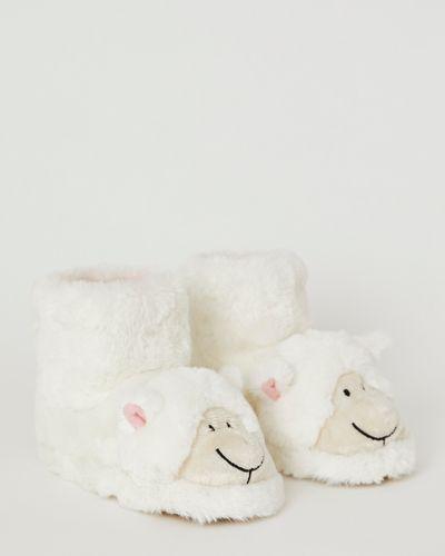 Francis Brennan the Collection Faux Fur Sheep Slipper