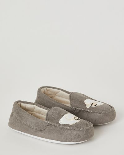Francis Brennan the Collection Sheep Moccasin Slippers