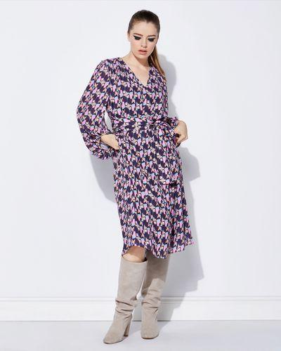 Lennon Courtney at Dunnes Stores Midi Chevron Draped Dress