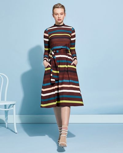 Lennon Courtney at Dunnes Stores Stripe Jersey Dress thumbnail