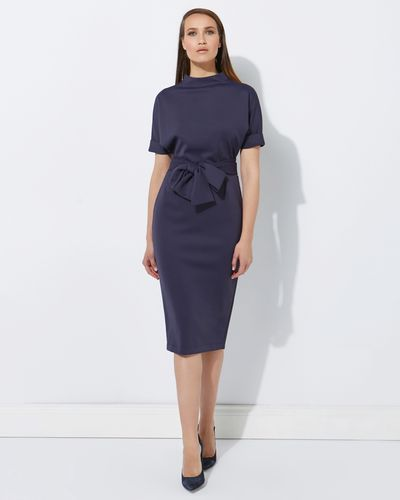 Lennon Courtney at Dunnes Stores Midnight Tie Back Dress