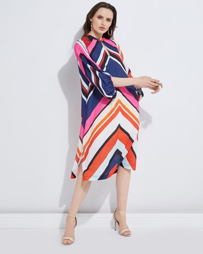 Lennon Courtney at Dunnes Stores Rhombi Print Dress