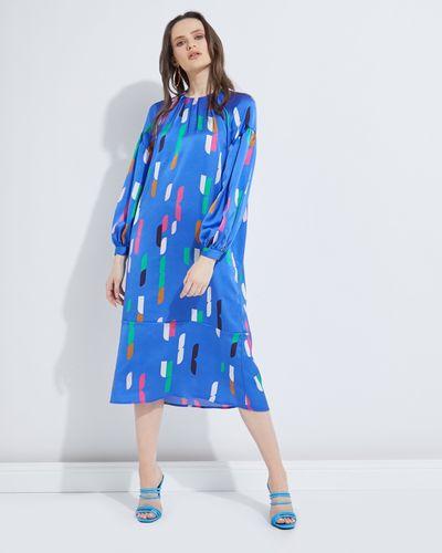 Lennon Courtney at Dunnes Stores Cobalt Lauren Dress