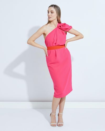 Lennon Courtney at Dunnes Stores One Shoulder Tulip Dress