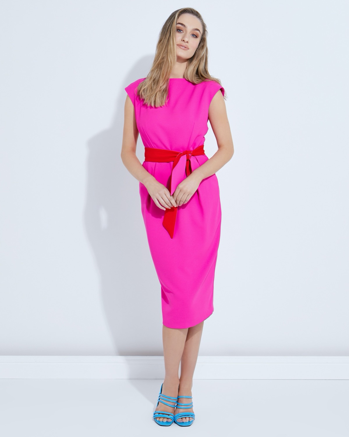 Lennon Courtney at Dunnes Stores Pink Dulotte Dress
