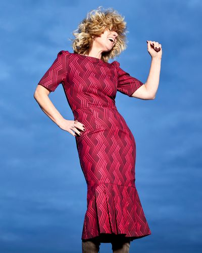 Lennon Courtney at Dunnes Stores Momala Fishtail Dress thumbnail