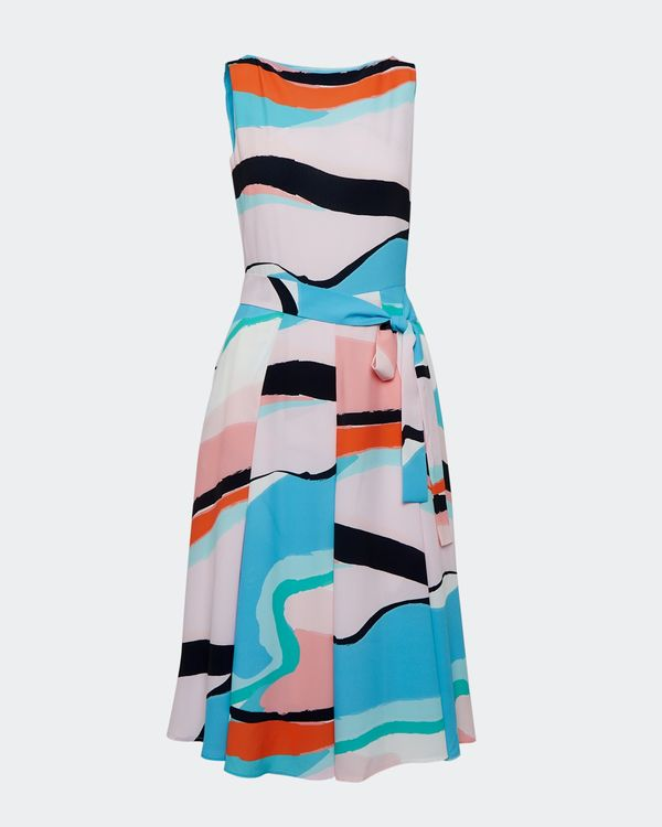 Lennon Courtney at Dunnes Stores Horizon Print Dress