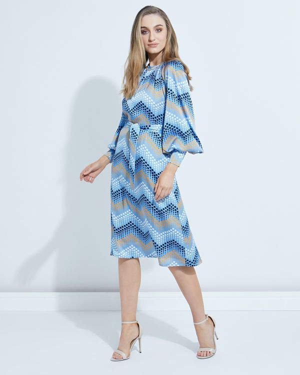 Lennon Courtney at Dunnes Stores Cubist Print Dress