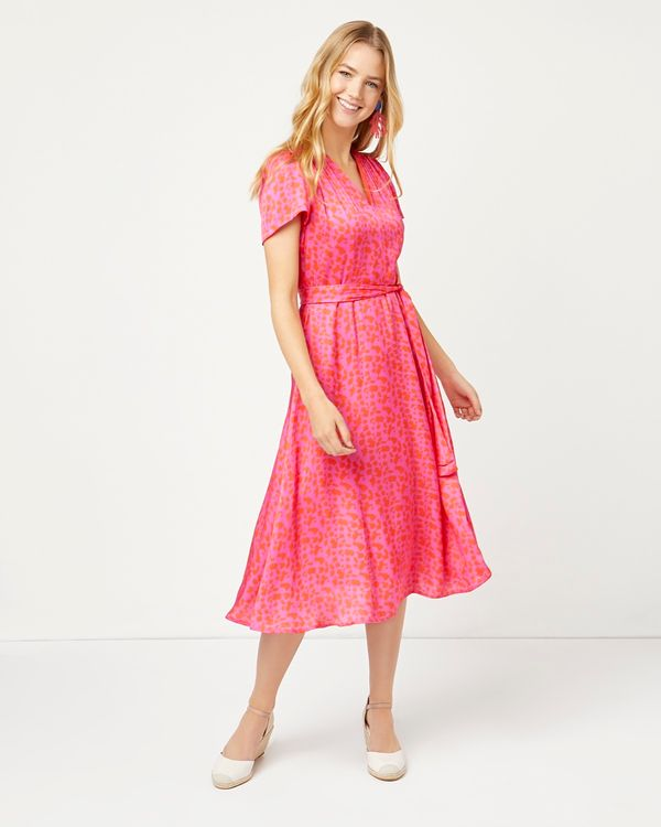 Lennon Courtney at Dunnes Stores Fire On The Tiles Dress