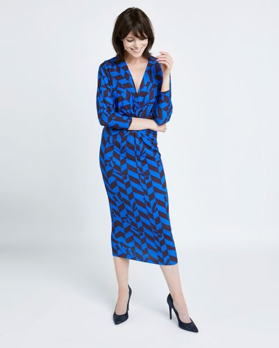 Lennon Courtney at Dunnes Stores Twist Front Dress