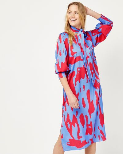 Lennon Courtney at Dunnes Stores Fire and Ice Tunic Dress