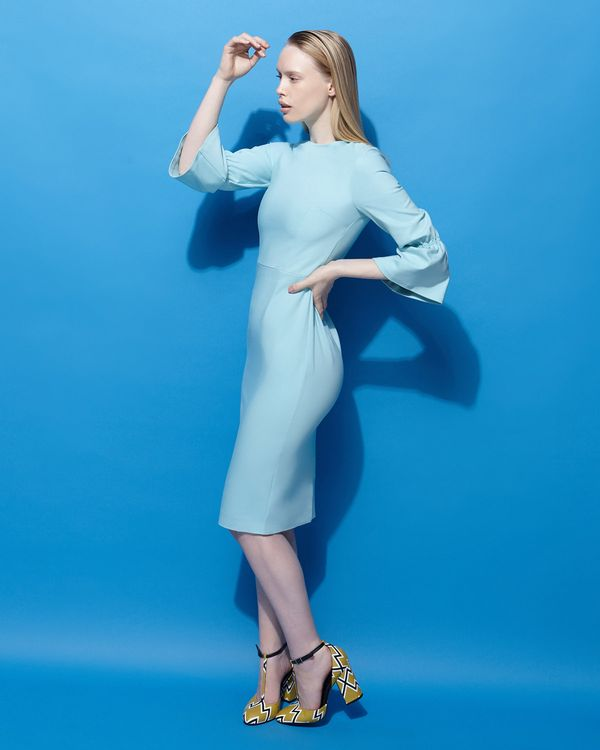 Lennon Courtney at Dunnes Stores Icy Blue Sweetie Dress
