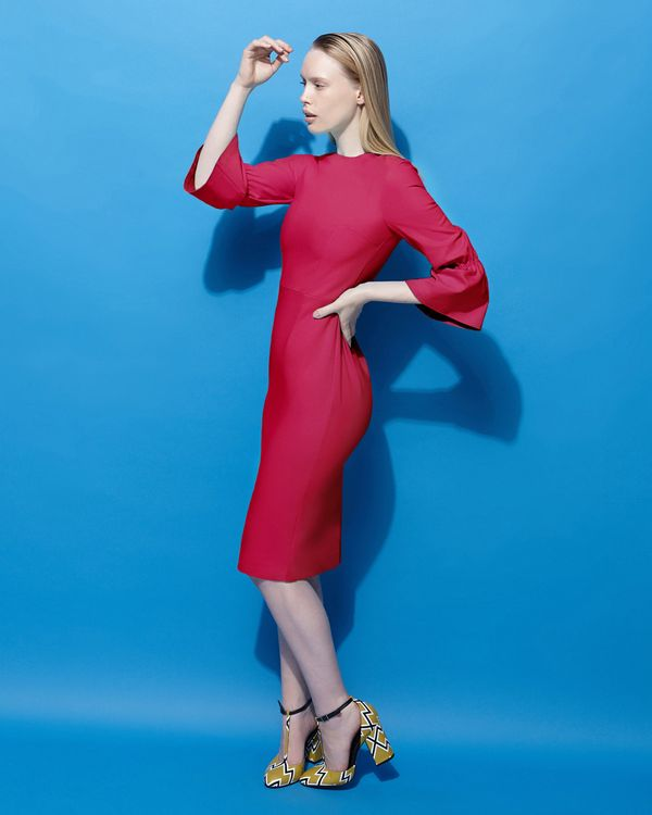 Lennon Courtney at Dunnes Stores Raspberry Sweetie Dress