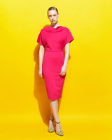 pink Lennon Courtney at Dunnes Stores Pink Cowl Dress
