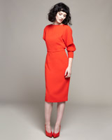 red Lennon Courtney at Dunnes Stores Red Batwing Dress