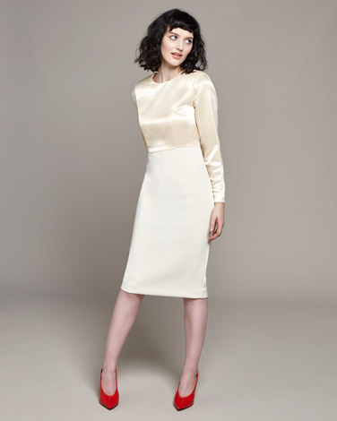 creamLennon Courtney at Dunnes Stores Cream Formal Dress