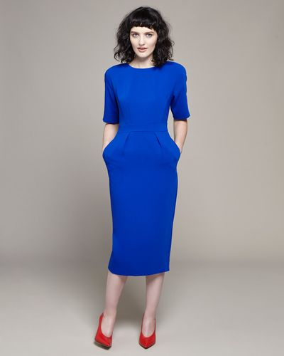 Lennon Courtney at Dunnes Stores Cobalt Tulip Dress thumbnail