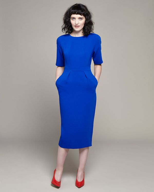 Lennon Courtney at Dunnes Stores Cobalt Tulip Dress