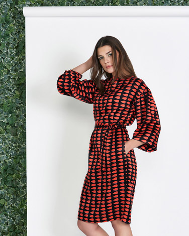 multiLennon Courtney at Dunnes Stores Print Droplet Dress