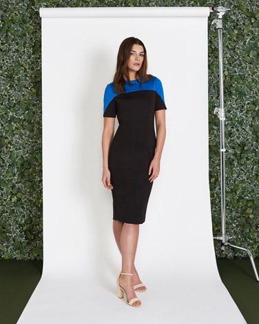 multiLennon Courtney at Dunnes Stores Contrast Colour Dress