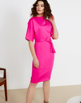 pink Lennon Courtney at Dunnes Stores Pink Batwing Dress