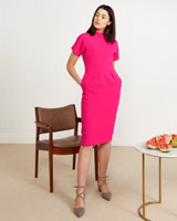 pink Lennon Courtney at Dunnes Stores Pink Tulip Dress