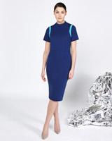 blue Lennon Courtney at Dunnes Stores Sports Contrast Dress