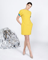 yellow Lennon Courtney at Dunnes Stores Tunic Dress