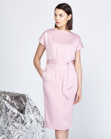 pinkLennon Courtney at Dunnes Stores Blush Batwing Dress