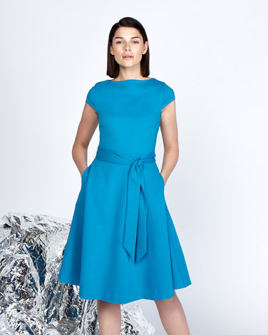blueLennon Courtney at Dunnes Stores Boat Neck Fit And Flare Dress