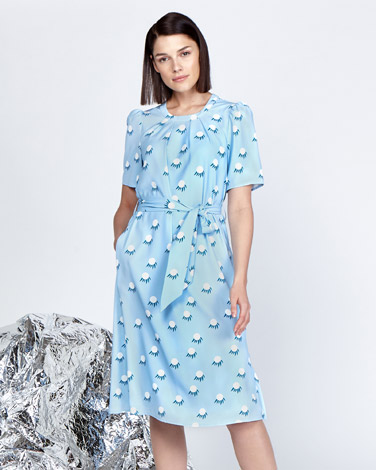 multiLennon Courtney at Dunnes Stores Graphic Flower Dress