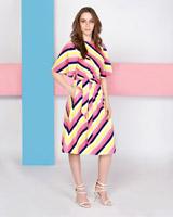 fa75d5bb42d96 ... multi Lennon Courtney at Dunnes Stores Strobe Stripe Dress