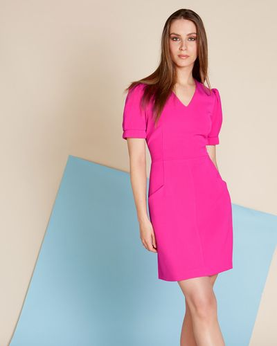 Lennon Courtney at Dunnes Stores Pink V-Neck Dress thumbnail