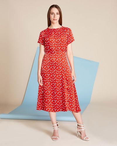 Lennon Courtney at Dunnes Stores Print Tea Dress