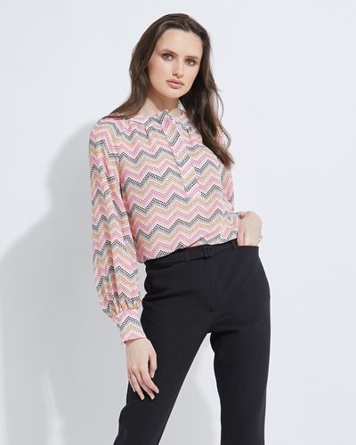 Lennon Courtney at Dunnes Stores New Dotty Print Blouse