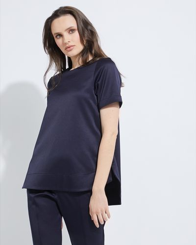 Lennon Courtney at Dunnes Stores Rounded Hem Top