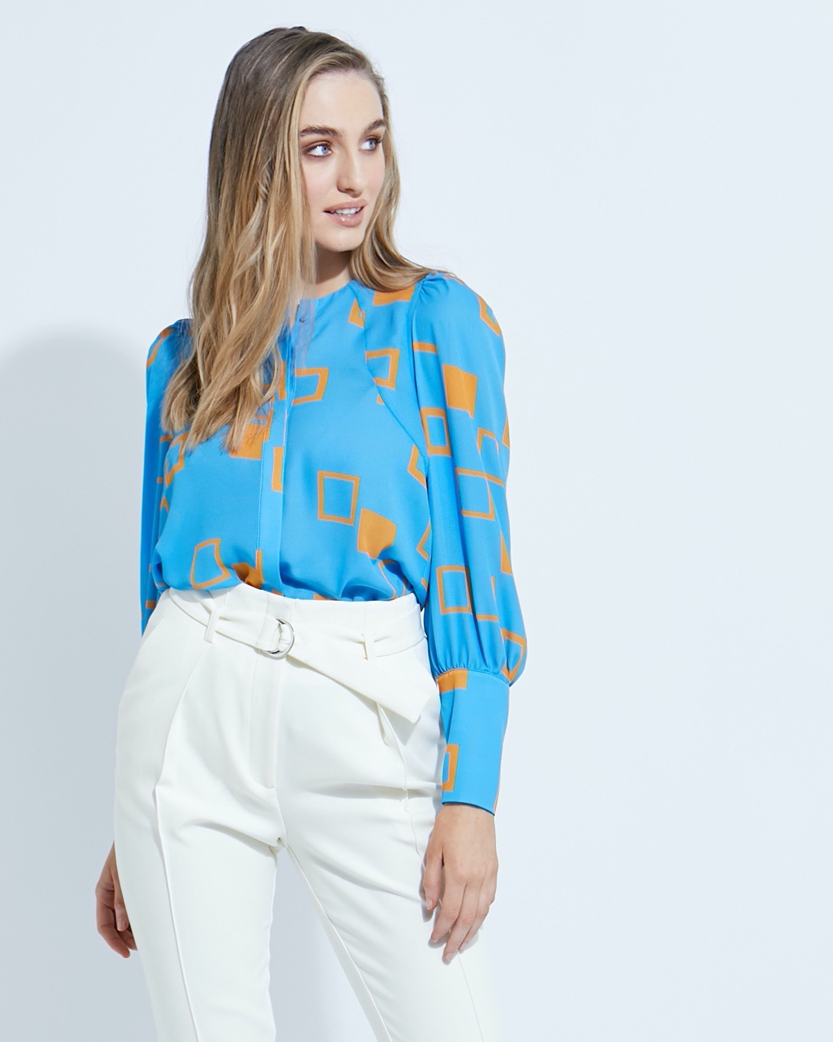 Lennon Courtney at Dunnes Stores New Lauren Print Blouse