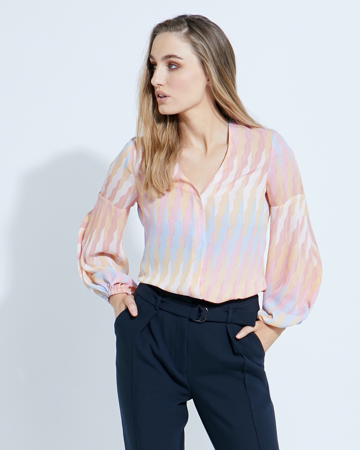 Lennon Courtney at Dunnes Stores Marigold Print Blouse